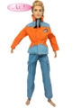 NK One Set Prince Ken Doll Garments Trend Go well with Cool Outfit For Barbie Boy KEN Doll Finest Kids's Birthday Presents Present 19A