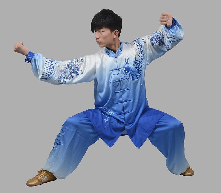 Здесь можно купить  Chinese embroidered Tai chi clothing Martial arts suit taiji clothes wushu uniform for women men girl kids boy children adults  Спорт и развлечения