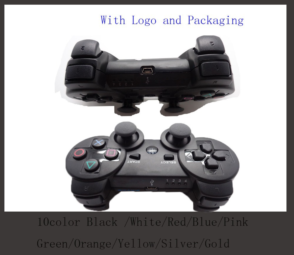 For ps3 original wireless controller sixaxis joystick for ps3 controller Free Shipping(China (Mainland))
