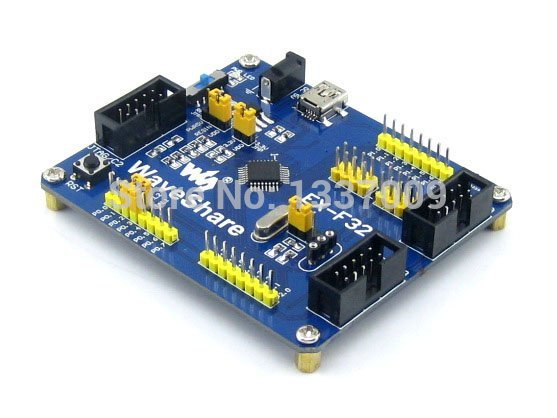 C8051F320 C8051F 8051 Evaluation Development Board Kit Tools Full I/O Expander EX-F320 Standard Free Shipping(China (Mainland))