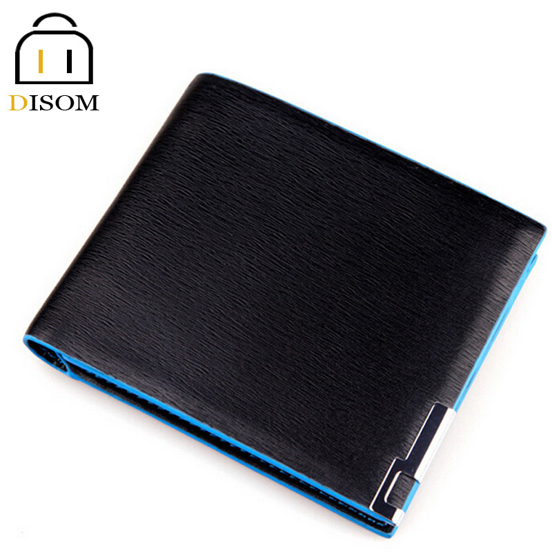 New Design 2016 men wallets famous brand male money purses for resale pu leather men's Wallet man Coin purse Carteira Masculine(China (Mainland))
