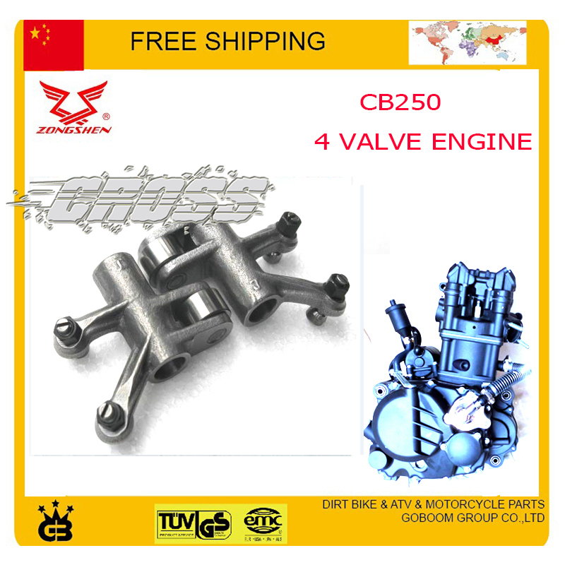 ZONGSHEN CB250 water cooled engine 4 valve arm rockarm inlet cqr KAYO BSE 250cc dirt pit bike atv quad motorcycle accessories<br><br>Aliexpress
