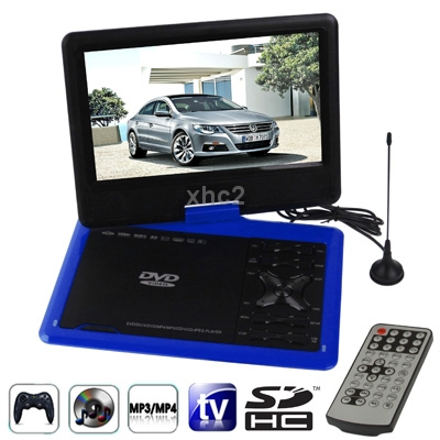 NS-959 9.5 inch TFT LCD Screen Digital Multimedia Portable DVD USB Port, Support TV Game Function, (Blue) free shipping(China (Mainland))