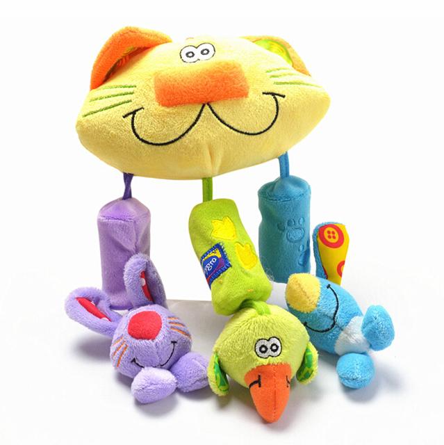 Кот висит белл детские плюшевые игрушки с кот висит игрушки WJ246