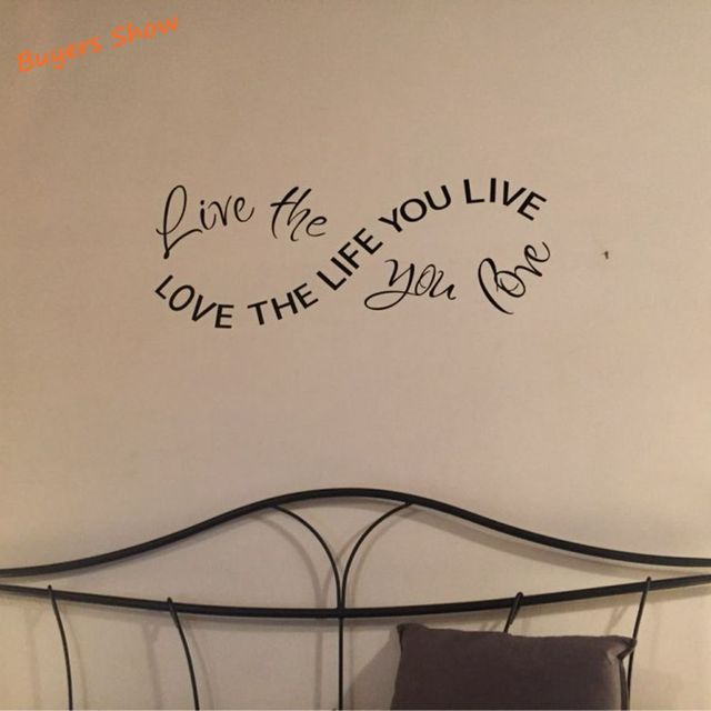 Love the life you live – Life the live you love  Sticker
