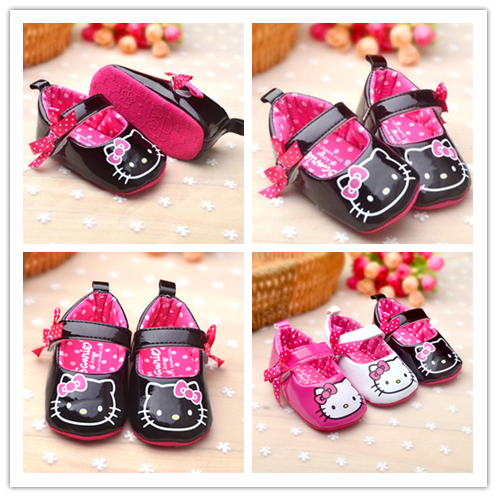 2015 Hot Sale Soft Patent Leather Baby Shoes Black Bowknot Toddler Shoes Breathable Branded First Walker High Quality ST064(China (Mainland))