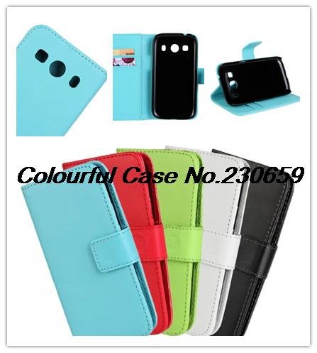 PU Leather Magnetic Wallet Flip Case Cover Samsung Galaxy Ace 4 Lte G357+free gift+ - Colourful case store
