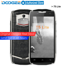 Doogee T5 lite mobile phones IP67 Waterproof 5.0Inch HD 2GB RAM+16GB ROM Android 6.0 Dual SIM MTK6735 Quad Core 8.0MP 4500mAH(China (Mainland))
