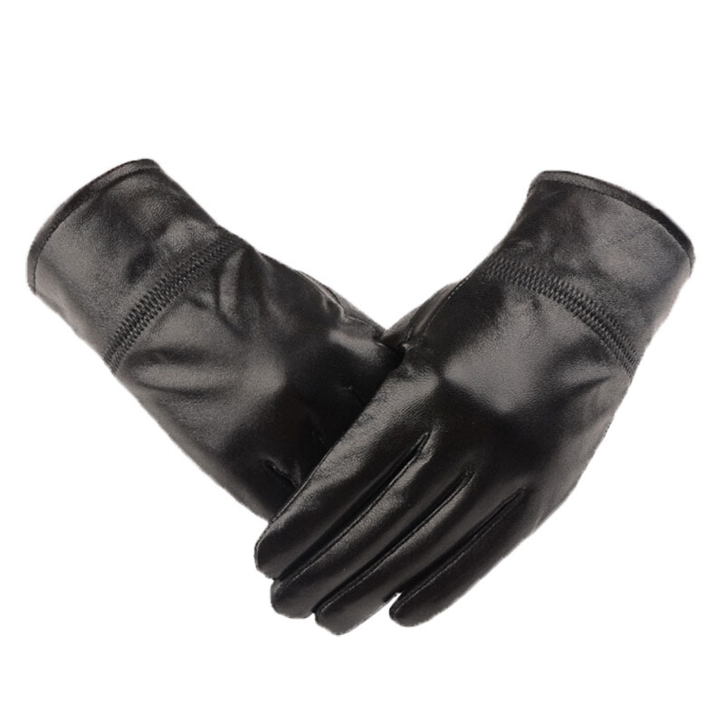 Leather Gloves For Men Winter Winter Genuine Leather Gloves