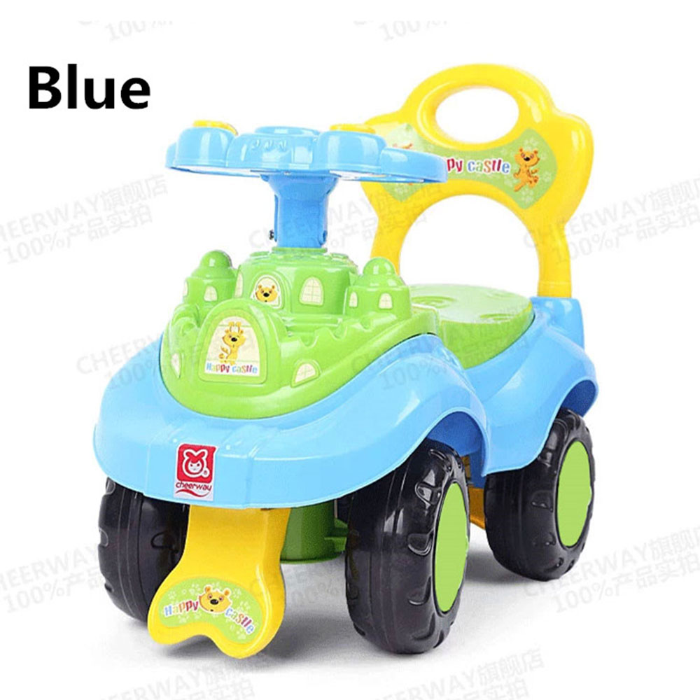 Four-wheeled scooter for children shilly car baby walker baby stroller toy multifunction boy girl kid lovely cute GCZ-015-01(China (Mainland))