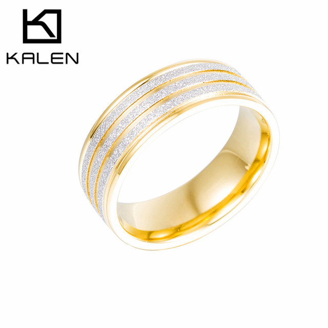 Aliexpress Buy 2016 Kalen Classic Jewelry Stainless Steel Engagement We