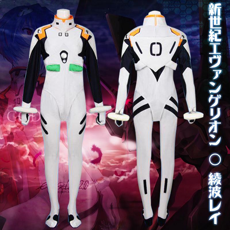 Здесь можно купить  EVA Neon Genesis Evangelion Cosplay Siamese tight Rei Ayanami Cosplay Costumes Suit No Armor - Any Size  Одежда и аксессуары