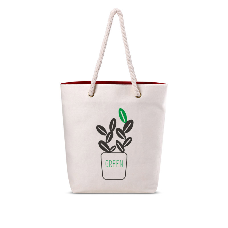 BK012 women canvas handbags and totes beige unique characters cotton bags girls practical shopping bags 2016 new arrival(China (Mainland))