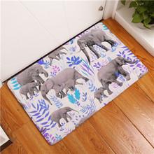 Hohe Qualitt Kreative Matten Waschbar Tier Blume Teppiche Warm Halten Teppich Schlafzimmer Rutschfeste Fussmatten Bereich