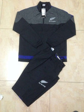 new zeland tracksuits soccer tracksuits  New Zealand Rugby tracksuit  thai quality Rugby tracksuits(China (Mainland))