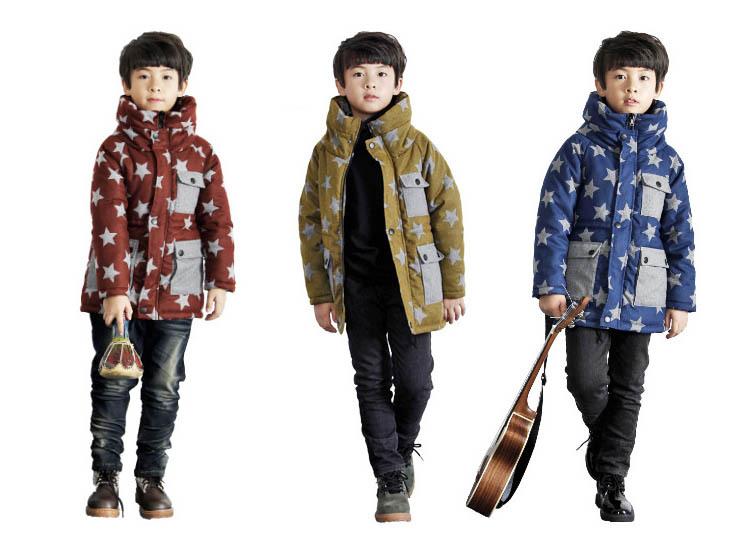 Fashion New Boys wl monsoon baby girls winter coat dress children long natural north face jackets kids cc warm ys belt(China (Mainland))