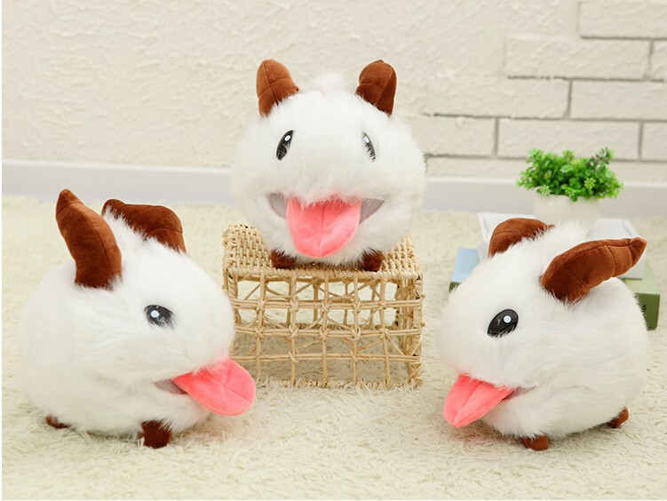 1 pcs 25 cm LOL Poro plush toy Poro Doll Legal Edition High quality Hot  Sale - us600