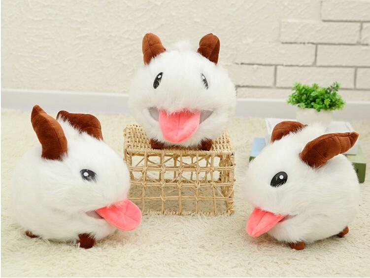 1 pcs 25 cm LOL Poro plush toy Poro Doll Legal Edition High quality Hot  Sale - us600
