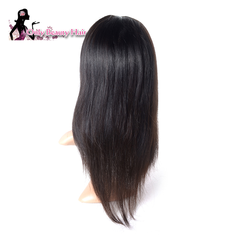 brazilian lace front human hair wigs cen be ironed brazilian virgin hair straight human hair lace front wigs black women by dhl(China (Mainland))