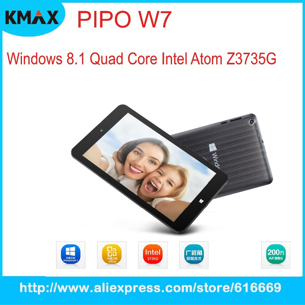 Hot PIPO W7 Quad Core Windows 8 1 64 Bit Tablet PC 7 inch 1280 800