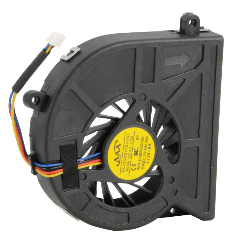Laptops Replacements Processor Cooling Fans Fit For Toshiba Satellite C650 C660 Notebook Computer Component Cooler Fan F2037 P72(China (Mainland))