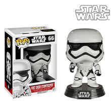 Genuine Funko Pop Movie Star Wars Set Bobble Head PVC Vinyl Doll Action Figure Collectable Toy Robot 10cm Height Special Offer(China (Mainland))