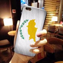 Funda de teléfono móvil de moda de lujo con bandera de MaiYaCa y bandera de Cyprus y Georgia para Apple iPhone 8 7 6 6S Plus X 5 5S SE XS XR XS MAX cubierta(China)