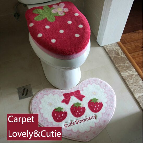 WC drei piceses Set( toilettensitz deckel cover+o rings+