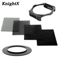 KnightX ND2 ND4 nd8 ND ND16 Filter Kit Cokin P Holder Adapter for Sony Nikon Canon