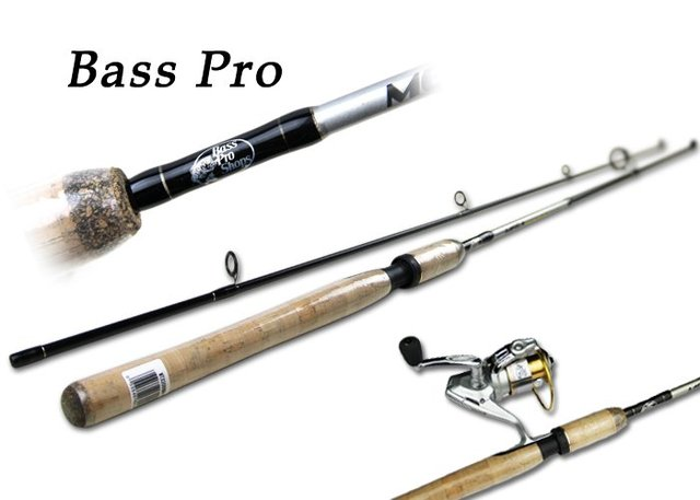 New Arrival,Fishing set 2012 Bass pro shops /spinning Combo-210cm Cork fishing pole with reel,fishing tackle,freeshipping by EMS