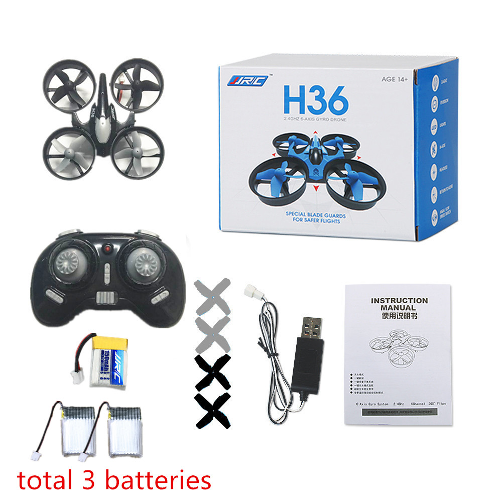 Mini RC Drone JJRC H36 Pocket Micro Quadcopters Professional Drones Helicopter Remote Control Toys Nano Copters vs eachine e010(China (Mainland))