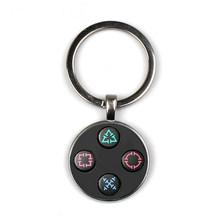 HOT! Playstation Controlador de jogo Chaveiro Presente Perfeito Jóias Criativo Vídeo Game Controller Padrão Keychain Presentes para Homens(China)