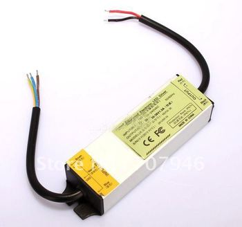 36V 1.5A 100-240VAC LED Driver Waterproof Power Supply Outdoor 5V Tested