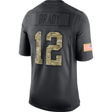 Men's New Brady Adult Stitched Gronkowski hot sale Julian Anthracite 2016 Salute to Service Black Color Free Shipping(China (Mainland))