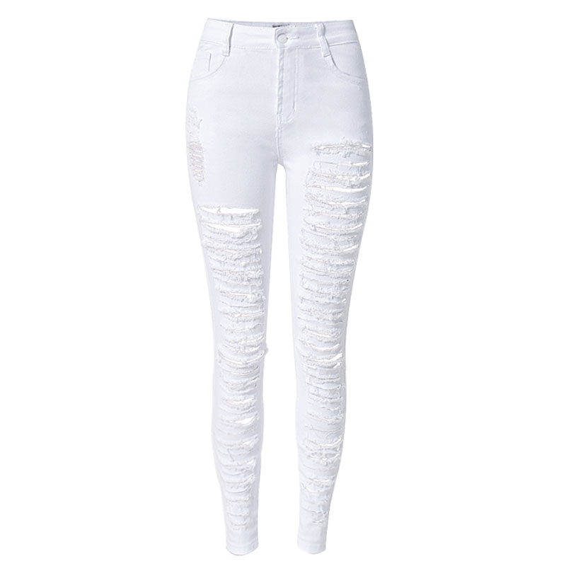 Online Buy Wholesale low waist white skinny jeans from China low ...