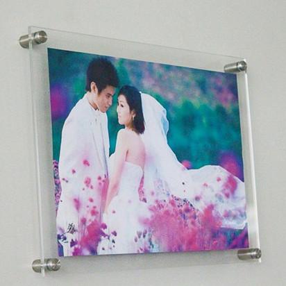 (6pcs/lot) Acrylic Photo Frame A3 455x335x8mm Wedding Photos Certificate Transparent Crystal Plexiglass Display Racks Home Decor(China (Mainland))