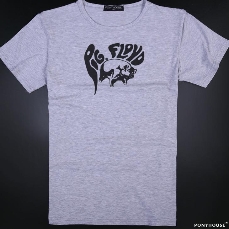 Гаджет  2015J VON JS JY PINK PIG PINK FLOYD Pink Floyd male short sleeved T-shirt None Изготовление под заказ