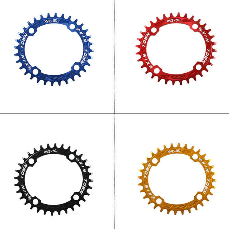 New Brand XINTOWN MTB Mountain Bike Bicycle 7075 Aluminium Crankset Disc ChainWheel Tooth Slice Plate 36T Oval Chain Wheel 16(China (Mainland))