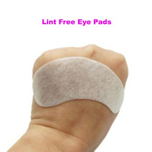 New Package Thinest 60 pairs silk eye pads under eye patch eyelash extension lint free eye