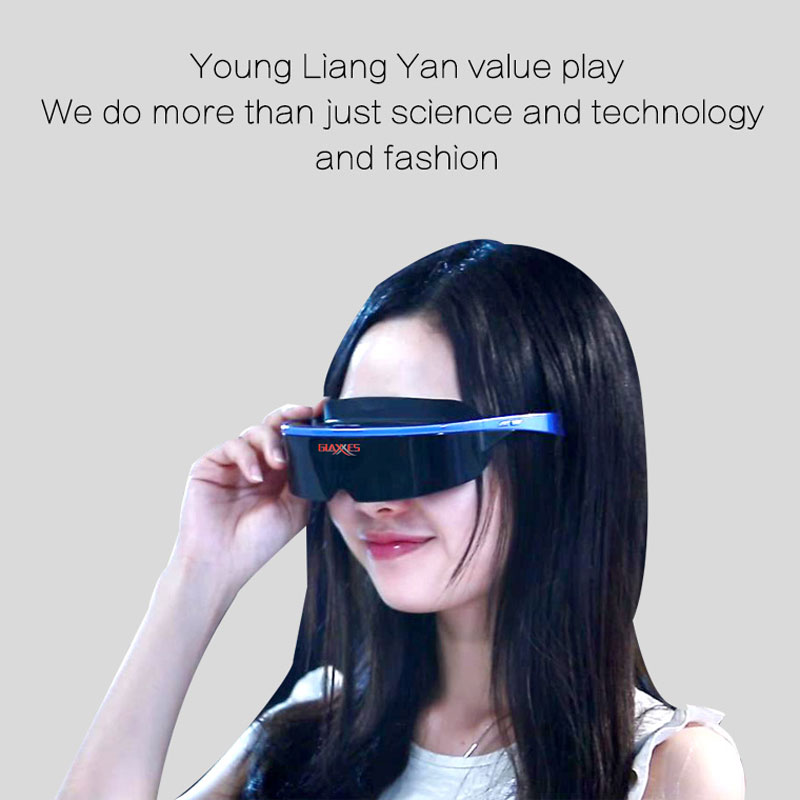 Latest Fashion immersive VR virtual reality headset intelligent portable video g