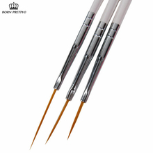 3pcs/set Nail Art Brush Ongle Liner Drawing Liner Pen Paint Brushes Tools Kit #24(China (Mainland))