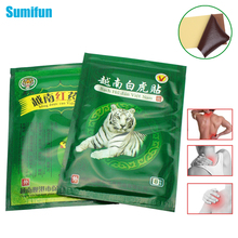8Pcs White Tiger+8Pcs Red Tiger Balm Balm Muscle  Massage Relaxation Herbs Medical Health Care Plaster Joint Pain Killer D0001