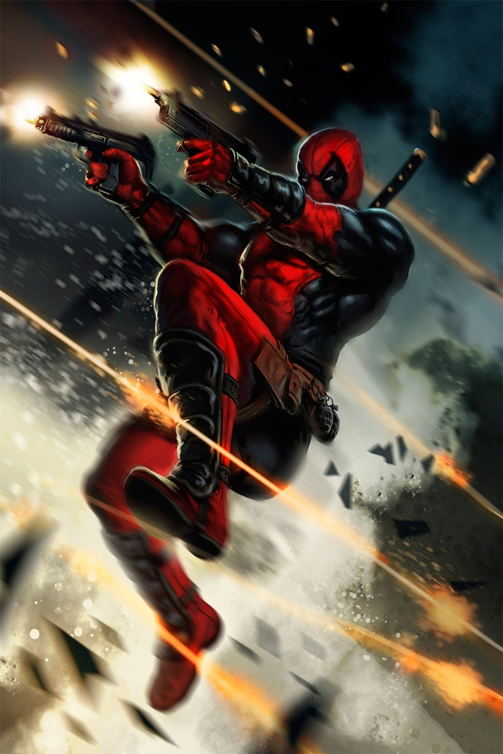 Deadpool Wade Wilson USA Superheroes Comic Movie Art Silk Poster Print Home Decor Painting DY809(China (Mainland))