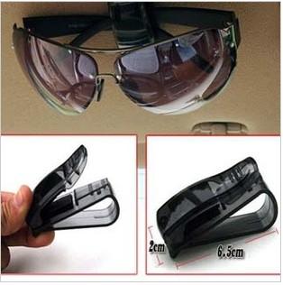 цена на Держатель для очков в авто Car glasses clip ABS