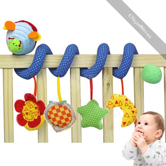 Baby Cute Music Multifunction Toy Kid Crib Round the Bed Hanging Star unique(China (Mainland))