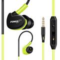 Fonge Sport Headphones Earphones With Mic Running Stereo Bass Music Headset For All Mobile Phone