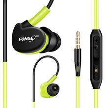 Deporte Running Stereo Bass Music Auricular Auriculares Auriculares Con Micrófono Para Todo el Teléfono Móvil