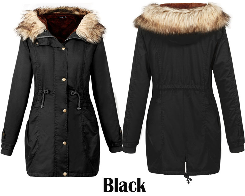 Long Black Coats For Winter