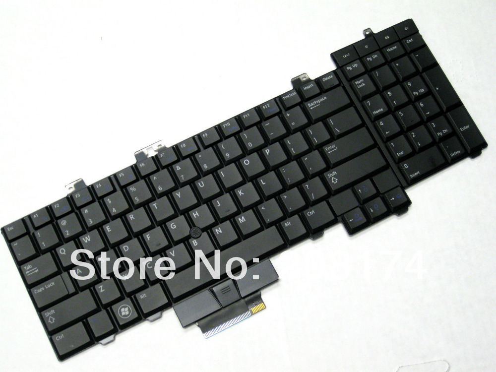 Genuine Laptop Keyboard for Dell Precision M6500 Backlit D113R 0D113R NSK-DE201(China (Mainland))