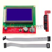 Graphic Smart 12864 128*64 LCD Display controller adapter for RAMPS 1.4 3D Print